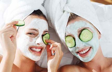 At-home facials