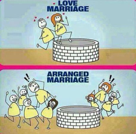 Love Marriage Versus Arranged Marriage